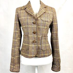American Eagle Outfitters Plaid Jacket